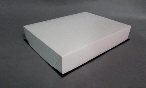 caja base bandeja + tapa 1kg 33,5x25,5x6 cm (x50u) - 041a