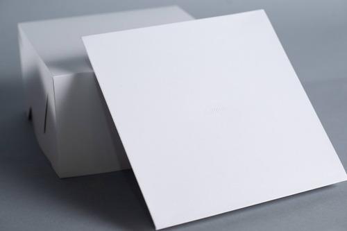 caja base bandeja + tapa 23 x 23 x 13 cm (x50 u.) tortas tartas postres semifrios - bauletto