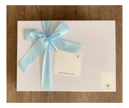 caja bebe nacimiento mantita regalo empresarial n°24