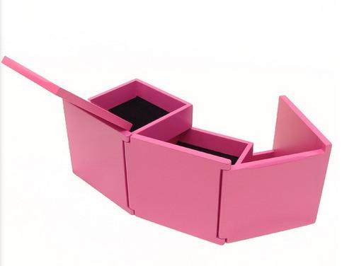caja bijou fucsia marca umbra - modelo tuck