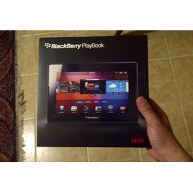Caja Blackberry Playbook 16 Gb