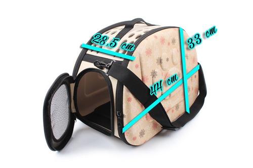 caja bolso mochila transporte gato perro huron