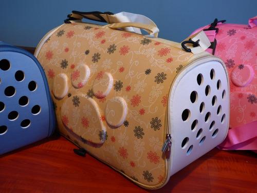 caja bolso mochila transporte rigido gato, perro, huron