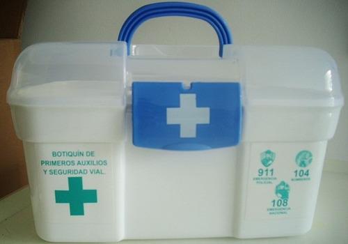 caja botiquín primeros auxilios y curaciones buena calidad !