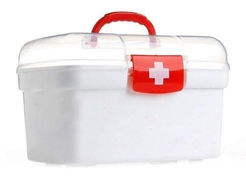 caja botiquín primeros auxilios y curaciones buena calidad ®