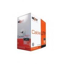 caja cable utp cat5e cmx p/exteriores negro nexxt ab355nxt07