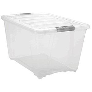 Caja de pl stico cajas organizadora caja iris - Baul de plastico ...