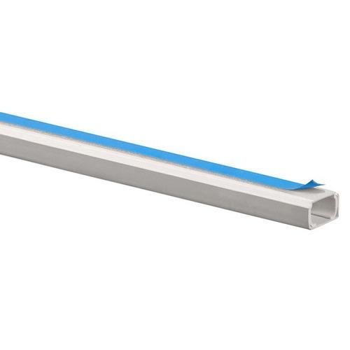 caja canaletas autoadhesivas blancas 10x10mm, 2m, 50 piezas