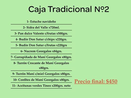 caja canasta navideña tradicional nº2- 2018