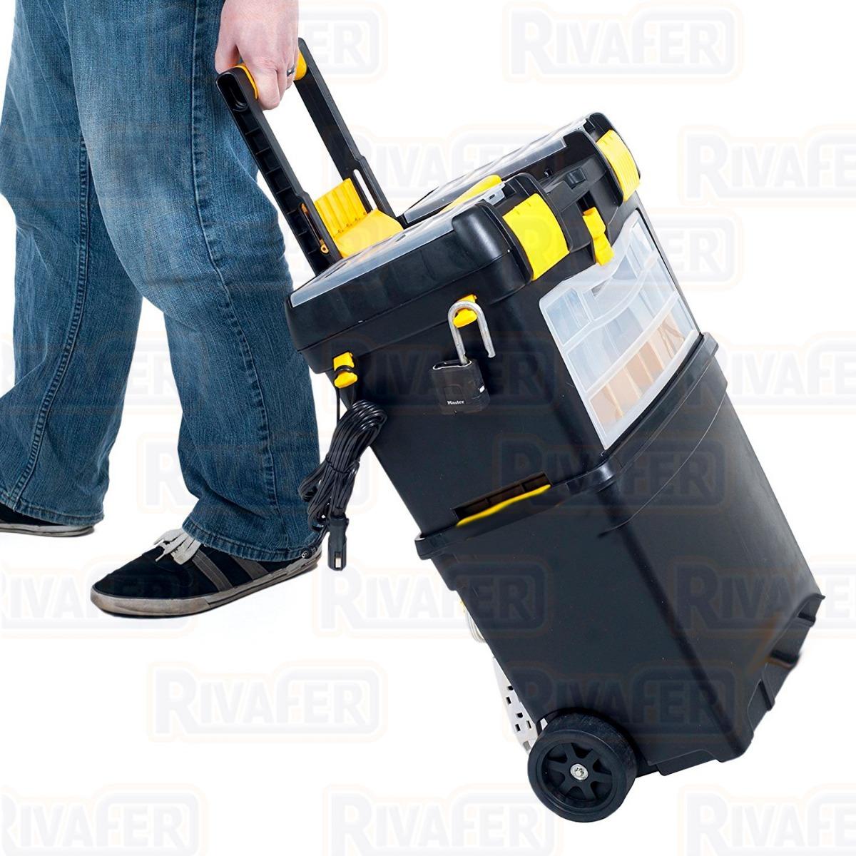 caja carro porta herramientas con rueda crossmaster gabinete. Cargando zoom. 9b5687de9271