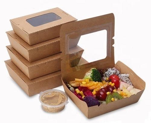 caja cartón con visor 500ml x 50 unidades