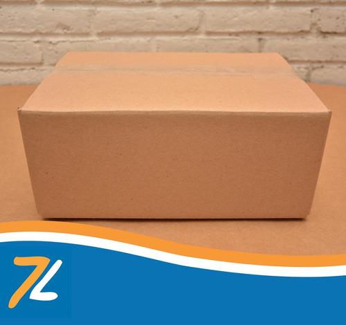 caja cartón corrugado 32 x 22 x 13cm. (10 pzas.)