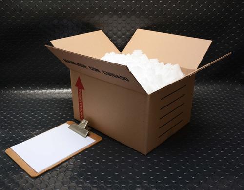 caja cartón corrugado doble oficio 43 x 34 x 25 cm(10 pzas)