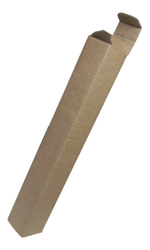 caja carton corrugado kraft 26 x 3.5 x 3.5 cm pack 20 cajas