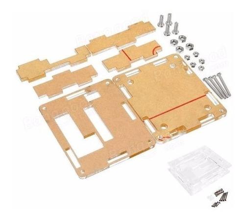caja / case acrilico transparente para termostato w1209
