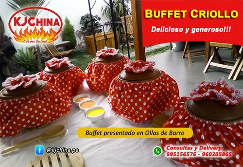 caja china, buffet criollo, comida a domicilio, delivery