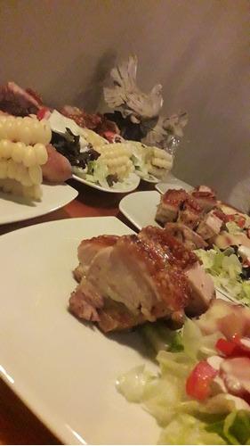 caja china chancho cerdo costillar panceta chef peru