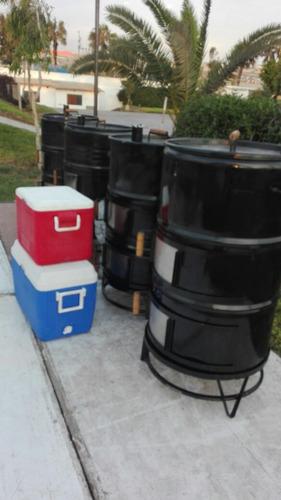 caja china cilindro y parrillas alquiler
