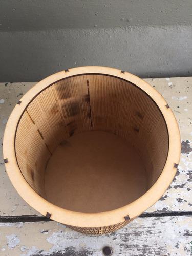 caja circular 20x20 fibrofacil mdf
