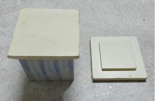 caja cofre artesanal religioso paloma de la paz