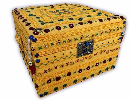 caja cofre diseño hindú hindio