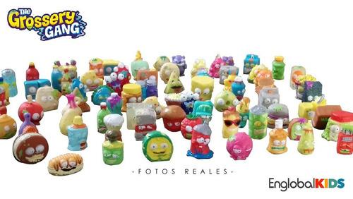 caja colección 15 grossery gang figuras regalos niños