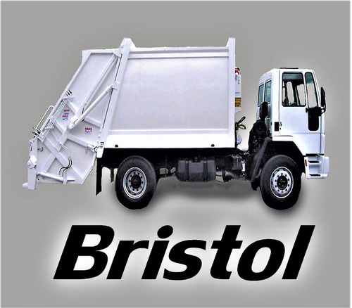 caja compactadora de basura marca bristol