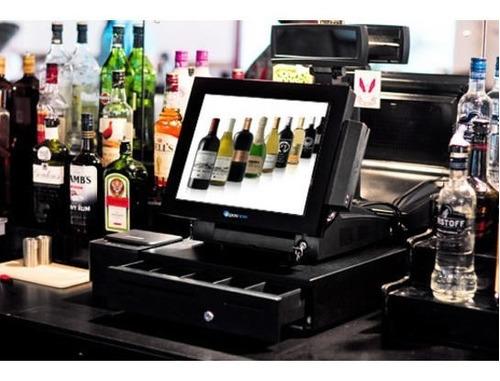 caja computarizada punto venta restaurantes con comandera