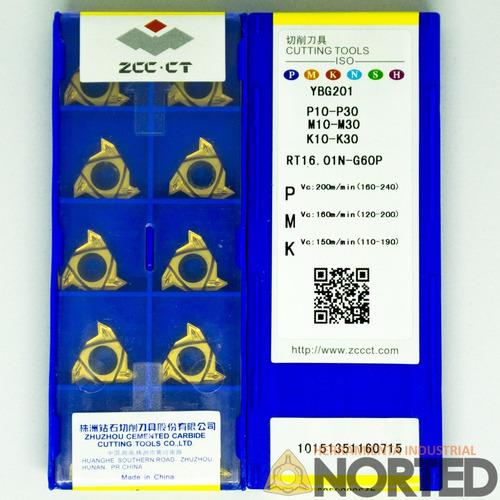 (caja con 10) inserto de carburo rt16.01n-g60p / ybg201
