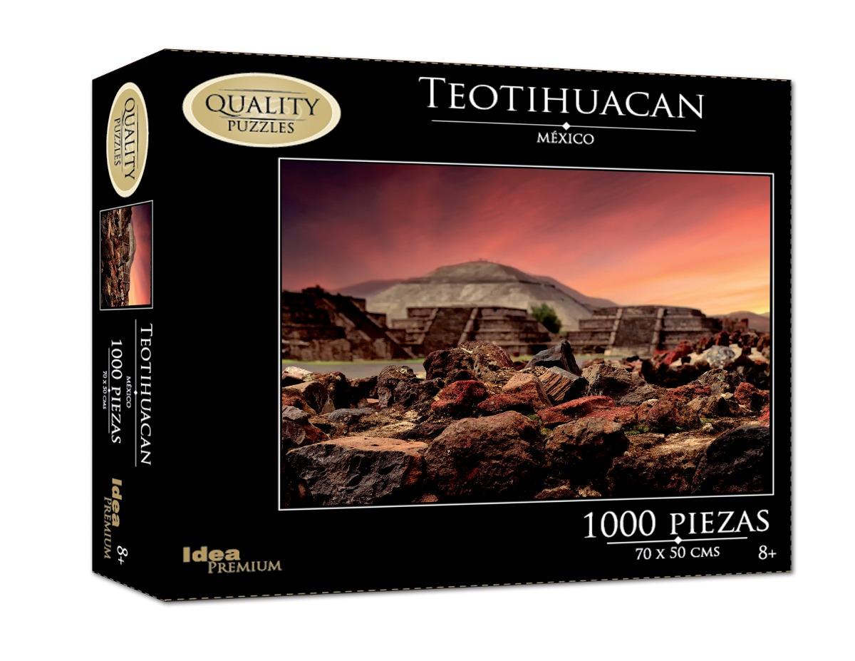 Caja con 10 rompecabezas de 1000 pzs mexico quality puzzle 1 en mercado libre - Caja rompecabezas ...