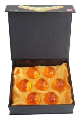 caja con  7 esferas del dragon - dragon ball - dbz