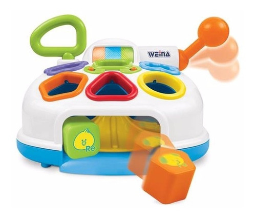 caja con formas - infanti