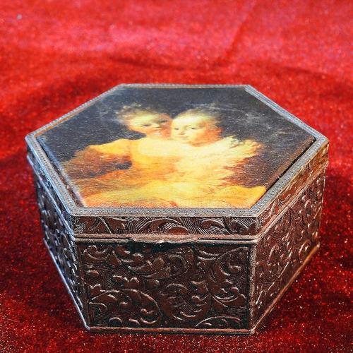 caja con imagen  two sisters , de  jean-honoré fragonard