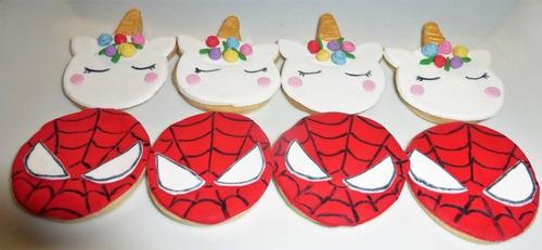 caja cookies decoradas dia del niño fortnite lol emojis, etc