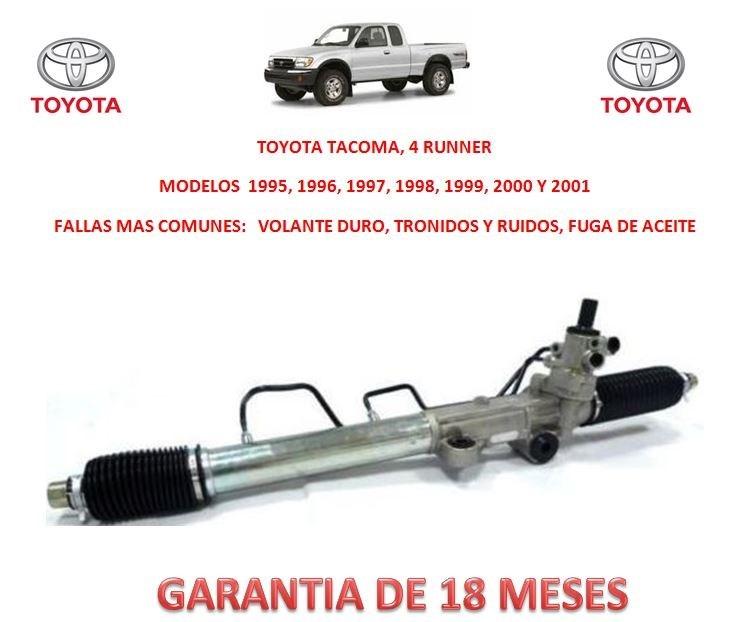 Caja Cremallera Direccion Hidraulica Toyota Tacoma 4x4