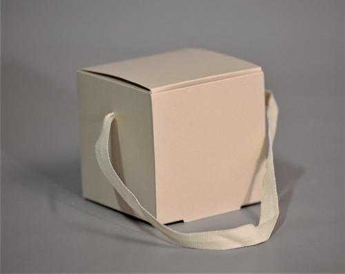 caja cubo c/ manija 10x10x10 cm (x50 u.) - 042 bauletto
