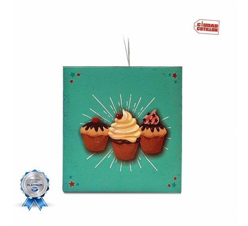 caja cupcakes muffin visor diseño x 1 - ciudad cotillón