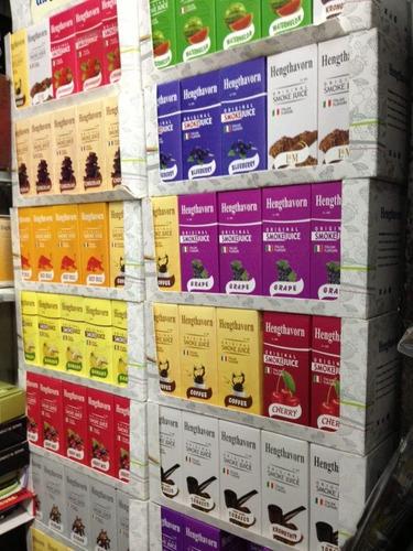 caja d 10 líquidos p/cigarro electrónico 10ml varios sabores