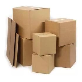 Caja D Carton  90x12x10 Treinta Y Cinco Pz Café.