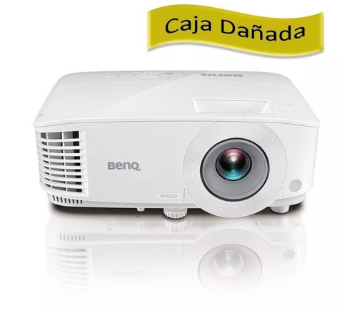 caja dañada proyector benq oficina mw550  wxga 3600 hdmix2