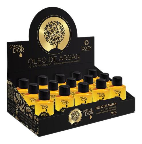 caja de 15 unidades de aceite de argan 9ml
