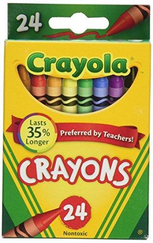 Caja De 24 Crayones De Colores Crayola, 2 Paquetes - $ 42.111 en ...