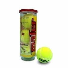 caja de 24 tubos de pelotas mafer championship