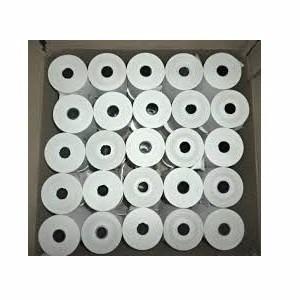 caja de 25 rollos papel bond 75x65 mm tickera parley loteria