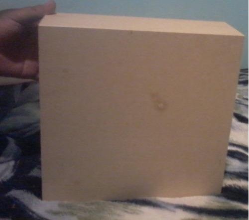 caja de 25*25 cm