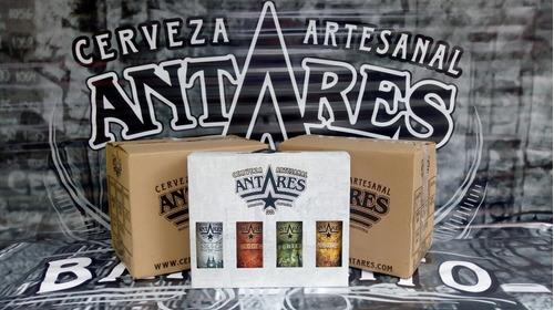 caja de 4 cervezas antares envío gratis en zona detallada