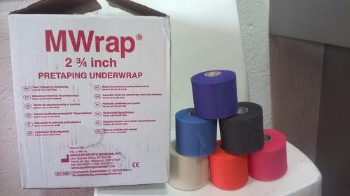 caja de 48 rollos under m-wrap mueller pre venda de cebolla