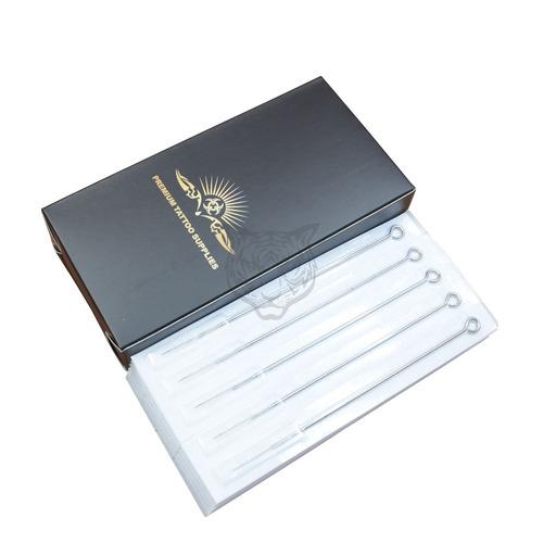 caja de 50 agujas para tatuar premium