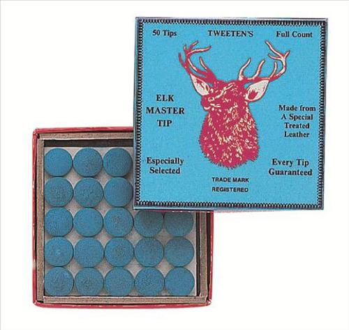 caja de 50 botanas prof p tacos de billar tweeten elk master