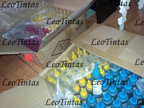 caja de 50 frascos tintas de 100ml exclusivas al por mayor